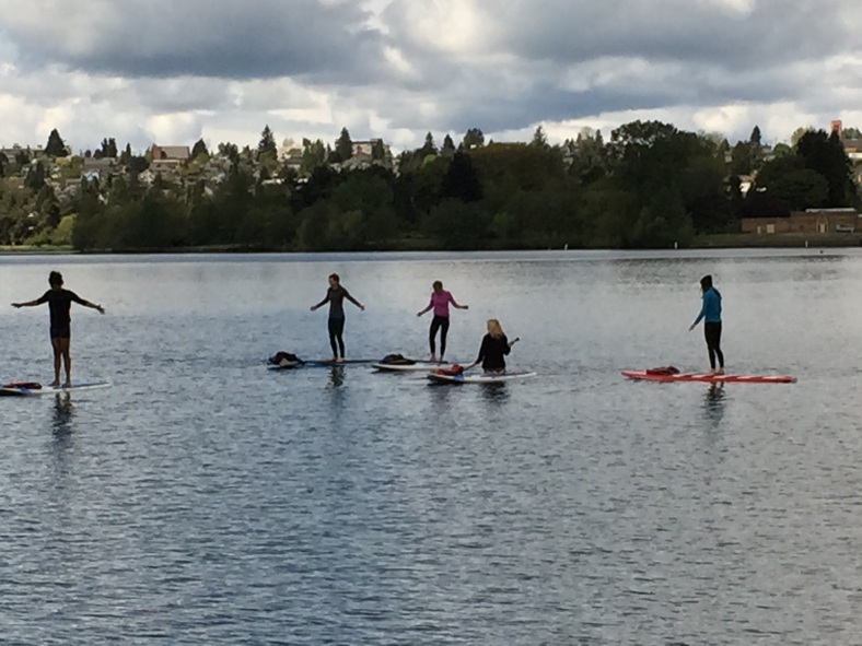 Yoga on Green Lake