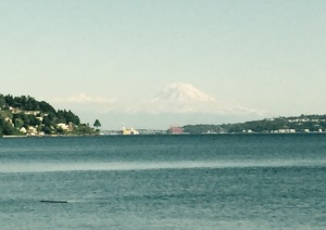 Puget Sound view of Mount Rainier