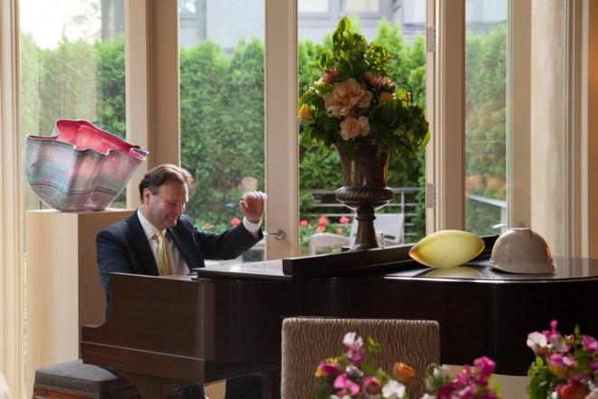 Luke at Piano