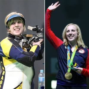 Ginny Thrasher 2016 Olympic Gold Medalist