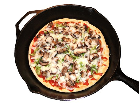 cast iron pizza