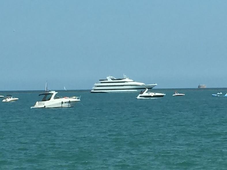 Yacht photo - Lake Michigan