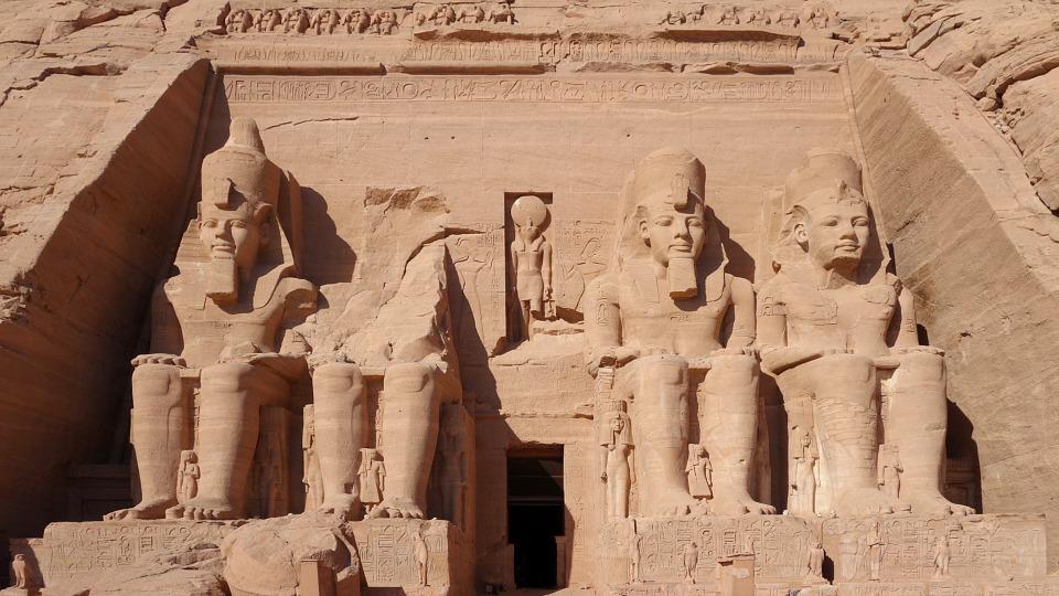 Egypt Rock Temple