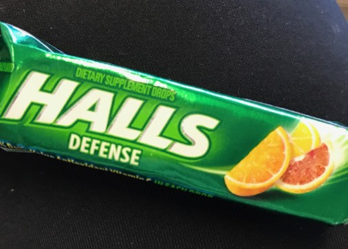 Halls cough drops 1