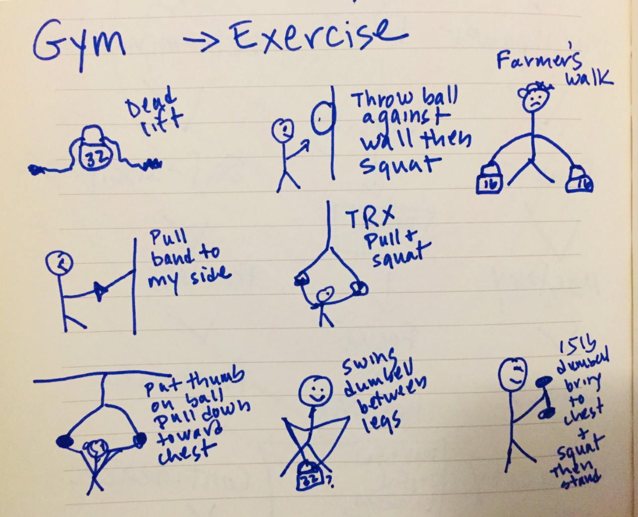 Exercise - weight lifting
