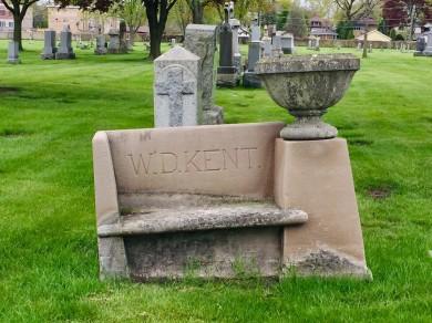 Cemetery bench 2